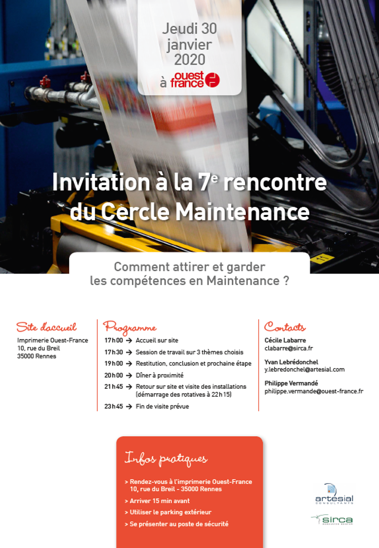 invitation cercle maintenance